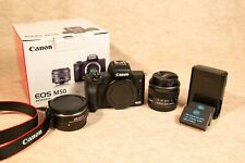 Canon EOS M50 24.1MP Mirrorless with 15-45mm STM Lens + Viltrox Speed Adapter EF