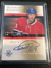 2015-16 Ultimate Collection Rookie #05CH Charles Hudon Auto 269/275 Canadiens