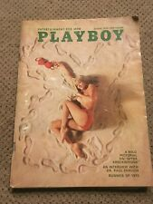 Playboy August 1970 Linda Donnelly Cover Vintage with Centerfold Sharon Clark