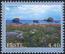 Estonia 2001 Landscapes/Seascapes/Coastline/Views/Tourism/Flowers 1v (ee1127)