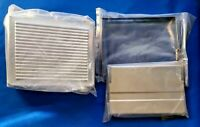 Chrome Ribbed Battery Cover, Tray & Strap fits Harley-Davidson NOS New Old Stock