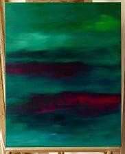 """Cole B. Turner """"GREENSCAPE"""" 80*100cm Bild Gemälde Kunst CT4494"""