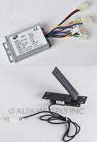 1000 W 48V DC Speed Controller w REVERSE & Foot Pedal Throttle f electric motor