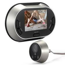 "3.5"" LCD Visual Monitor Door Peephole Peep Hole Wireless Viewer Camera Video"