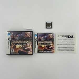 Advance Wars Days of Ruin Complete CIB Nintendo DS 2008 w Case Manual Authentic