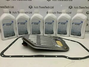 genuine audi allroad zf 6hp19 6 speed automatic gearbox oil 6L filter gasket kit