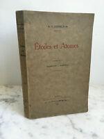 A.S Eddington étoiles et Atomes Hermann et Cie 1930