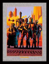 STAR Wars cacciatori di taglie-incorniciato 30 x 40 Stampa Ufficiale