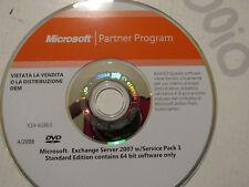 DVD Originale Microsoft Exchange Server 2007 - Microsoft  Partner Program
