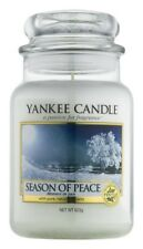 1 Yankee Candle 22 oz Large Jar Candles Season Of Peace Musk Bergamot Patchouli
