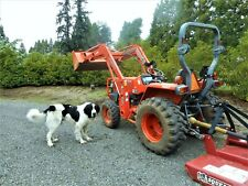 277 Low Hours Kubota L3400 Hst 4wd Orchard Tractor 35 Hp With Loader 5 Implements