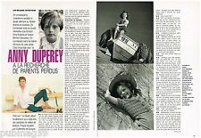 Coupure de presse Clipping 1992 (4 pages) Anny Duperey