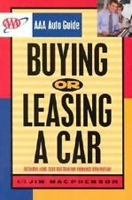 AAA Auto Guide: Buying or Leasing a Car by MacPherson, Jim