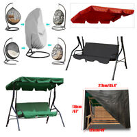 Garden Benches Swing Chair Canopy Outdoor Patio Cover Waterproof Replacement