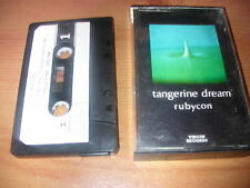 TANGERINE DREAM      RUBYCON     VIRGIN PAPER LABELS  CASSETTE
