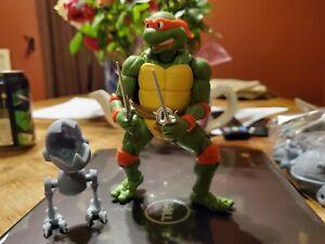"""Custom TMNT Ninja Turtles 1 3//4/"""" H4H Black Mousers **Buying Only 1** Figure"""