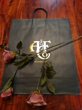 Abercrombie & Fitch Large Paper Gift Bag ☆BRAND NEW☆ *STUNNING* CHAMPS ELYSEES