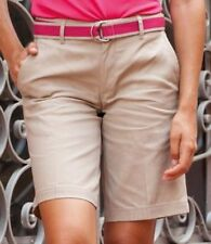 Cotton Patternless Mid Rise Shorts for Women