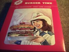BURGER TIME game (never opened) Colecovision