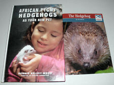 LOT # 39 - TWO BOOKS ON KEEPING HEDGEHOGS AS PETS