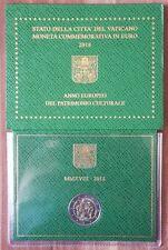 2 euro 2018 Vaticano Patrimonio Culturale folder official BU