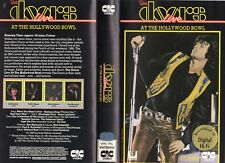 THE DOORS LIVE AT THE HOLLYWWOD B -VHS-PAL-NEW-Never played!-Original Oz release