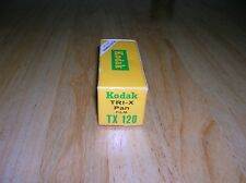 Vintage dead stock Kodak TRI-X Pan TX 120 Black & White film  in sealed box