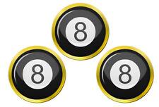 8 Ball Pool Marqueurs de Balles de Golf