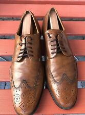 Cole haan C06176 Brown Leather Wingtip Dress Shoes 8.5 M