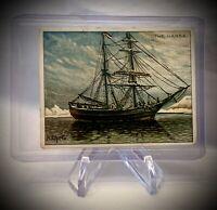 Vintage 1910 - THE HANSA - Hassan Cigarettes Tobacco Card - ARCTIC SCENES