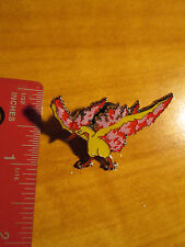 MOLTRES EX Metal PIN/BADGE Pokemon XY Legendary Bird Collector from Blister Pack