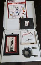 Simplicity Smart Box Embroidery Designs Transfer System Usb & Software With Card