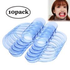 10pcs C-Shape Adult Teeth Whitening Intraoral Cheek Lip Retractor Mouth Opener M
