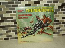 John Barry Thunderball Vinyl LP Turntable Record Soundtrack UAL 4132