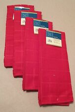 Kitchen Accessory Set Microfiber Hand Towel Red NEW