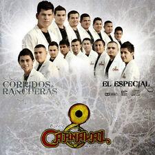 """BANDA CARNAVAL """"Corridos y Rancheras (El Especial) – 2010"""" *** NEW SEALED CD"""