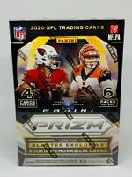 2020 Panini Prizm Football Blaster Box NFL Lazer Prizm Walmart Brand New Sealed