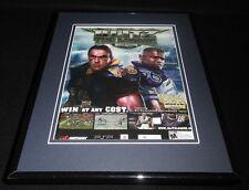 Blitz the League 2006 PS2 Framed 11x14 ORIGINAL Vintage Advertisement