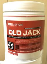 GENONE™ OLD JACK PRE-WORKOUT – ORIGINAL FORMULA / ALL FLAVORS AVAILABLE
