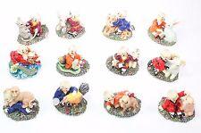 Set of 12 Monks Animal Zodiac Set Chinese New Year Housewarming Gift US Seller