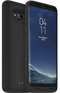 mophie Samsung Galaxy S8 Wireless Charging Battery Charger Case - Black