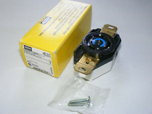 Hubbell 2620 30A 250V Twist-Lock Receptacle (km)