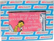 """SCHEDA TELEFONICA G 781/4-""""LE AVVENTURE DI PINOCCHIO""""-SERIE 4 custodia/Telecom"""