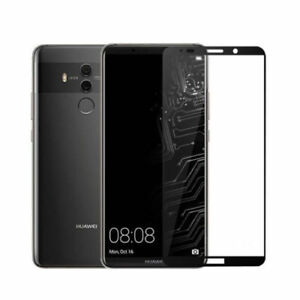 For Huawei Mate 10 Pro Genuine Tempered Glass Screen Protector Full Black 9H