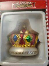 Mary Engelbreit Glass Ornament Queen of Everything Kurt Adler