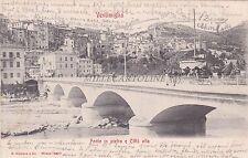 VENTIMIGLIA - Ponte in pietra e Città alta 1905