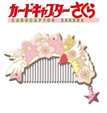 Ensky Card Captor Sakura Kinomoto Sakura Hair Comb with Case Clow Wand Star NEW