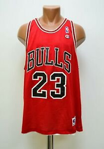 Reversibile NBA Chicago Bulls Basket Da Camicia #23 Jordan Champion Misura 48 (
