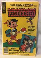 Gold Key WALT DISNEY SHOWCASE #48 WONDERFUL ADVENTURES of PINOCCHIO 1979 VG+