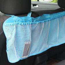 New Car Seat Tidy Organiser Travel Storage Multi-Pocket Bag Holder Pouch Blue